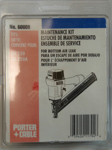 Porter Cable DA250 Trim Nailer Bumper Rebuild Kit 60008