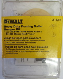 DeWalt D51845 Framing nailer Bumper repair kit D518003