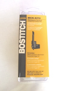 Bostitch N88RH,F21WW Framing Nailer Metal Connector MCN-KIT3