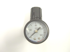 Air Compressor 4 port mini-Regulator w/Gauge