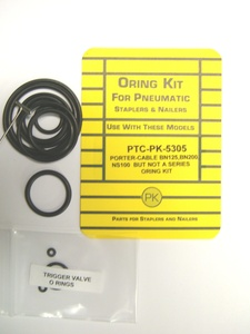 Porter Cable BN125,BN200,NS100 Bradder O`Ring Repair Kit