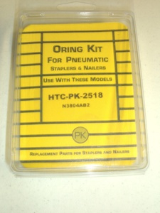 Hitachi N3804AB2 18ga Stapler O'Ring Repair Kit