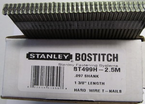 Bostitch MIII .097 case hard 1 3/8