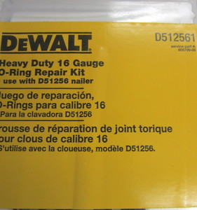 DeWalt D1256 Straight Finish Nailer Repair Kit D512561