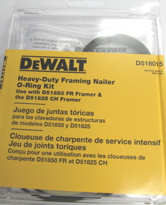 DeWalt D51850 FR, D51825 CH Framing Nailer Repair Kit D518015