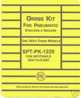 Spotnails MNS Framing Nailer O'Ring Repair Kit