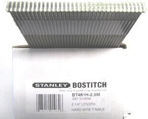 Bostitch Miii 097 Case Hard 2 1 4 Quot Concrete T Nails