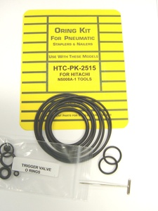 Hitachi NT65A 16ga Finish Nailer O'Ring Repair Kit