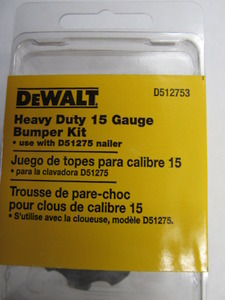 DeWalt D51275 Angle Finish Nailer Bumper Kit D512753