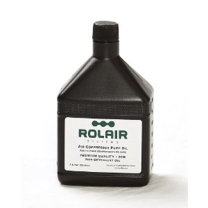 Rol Air Air Compressor Pump Oil 30W 34oz. OILCOMP30W34