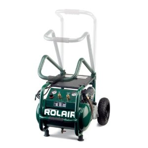 Rolair VT25BIG 2.5HP Electric 5.3Gal Air Compressor