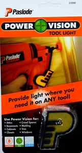 Paslode Power Vision Tool Light 219340